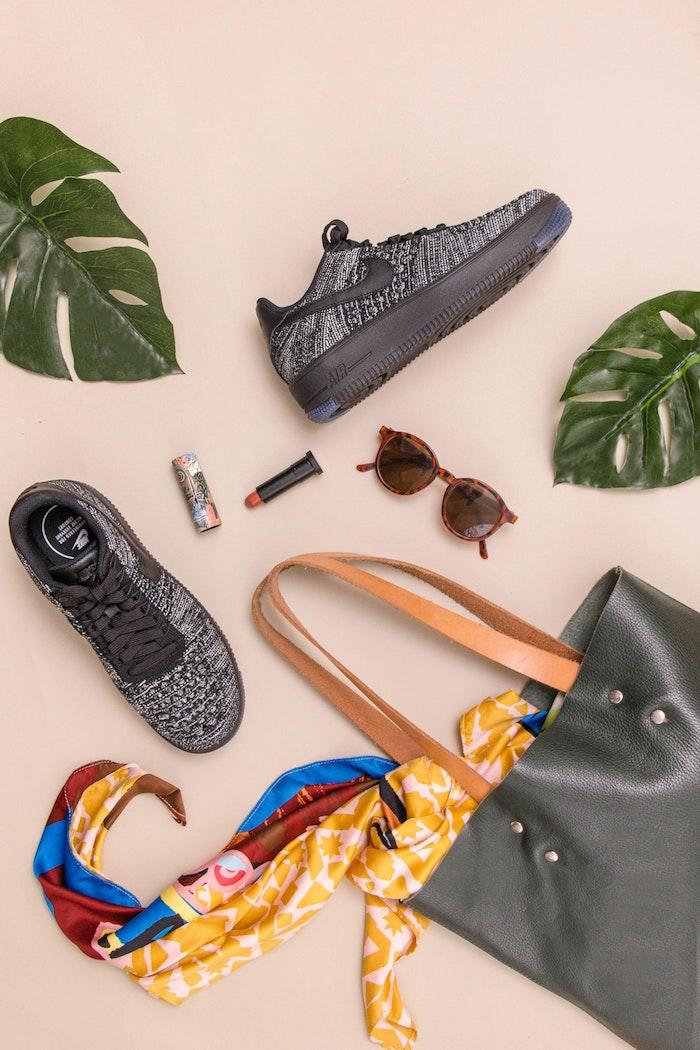 Marque basket femme belle basket pour femme tendance et confort basket chic nike chaussures de sport noirs cool nike air