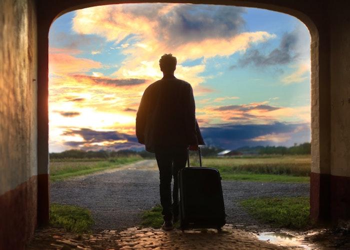 Fond d'écran nature fond d'écran tumblr fond d'écran nature telephone silhouette d homme au coucher de soleil