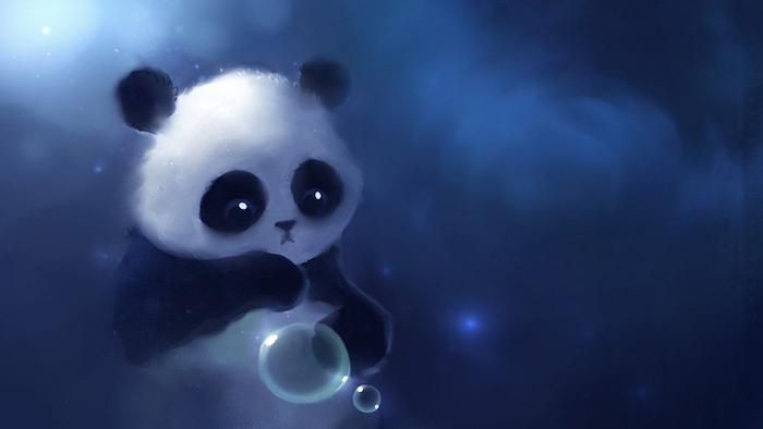 Adorable image pour fond d'écran tumblr panda ecran de verrouillage iphone mignon image de panda