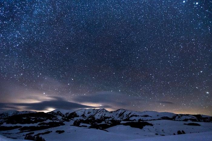 Fond d'écran hd tumblr fond d'écran girly fond d'écran swag photo belle photo des étoiles et montagne enneigé