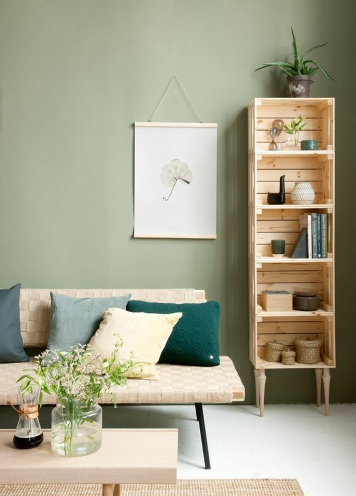 habiller un mur d individualit 81 solutions d co actuelles obsigen. Black Bedroom Furniture Sets. Home Design Ideas