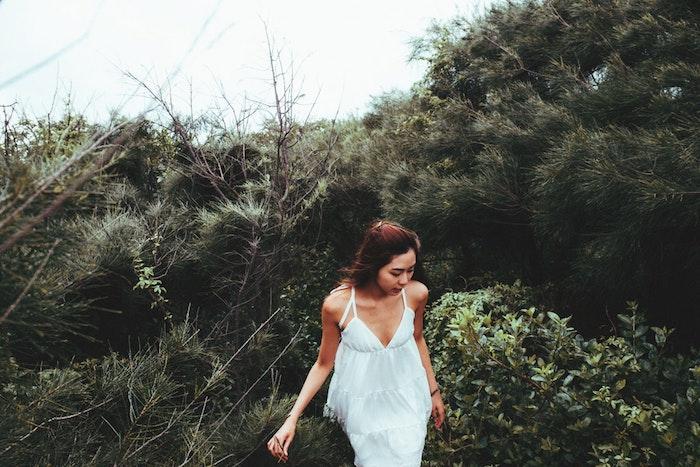 Robe longue blanche boheme robe courte blanche le bohème chic idée robe longue debardeur