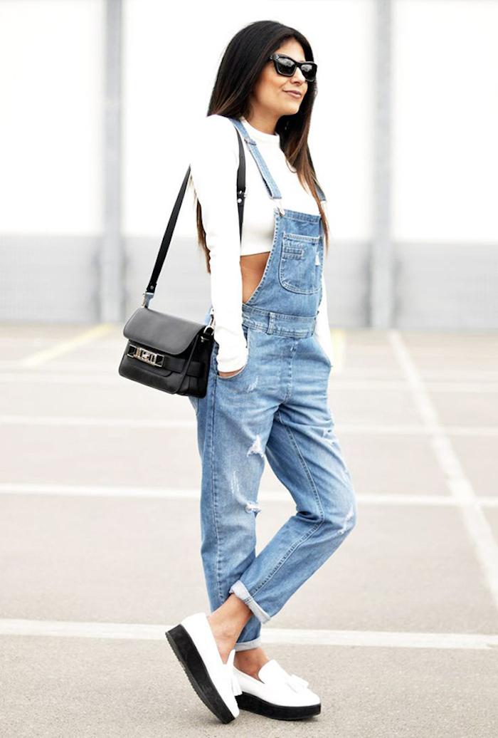 Comment s'habiller confort pour prendre l'avion basket montant femme basket femme habillé salopette en jean pantalon long bien habillee femme style décontracté