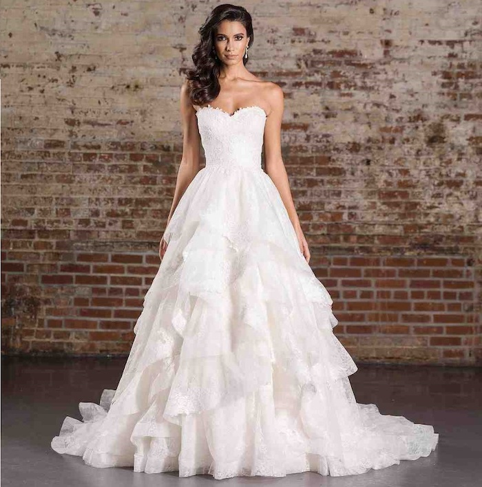 Robe de mariée dentelle robe pour mariage pas cher femme robe blanche photo de mariage bustier coeur
