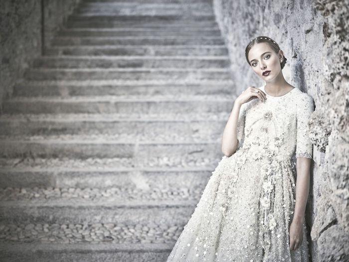 Choisir sa robe mariée empire magnifique robe de mariée élégante quelle est ma robe vintage fleurie