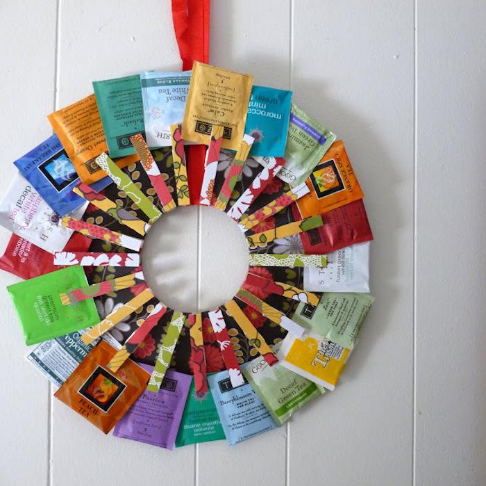 Idée d activité manuelle activité manuelle pour ado et adulte bricolage simple à réaliser pinces couronne de thé