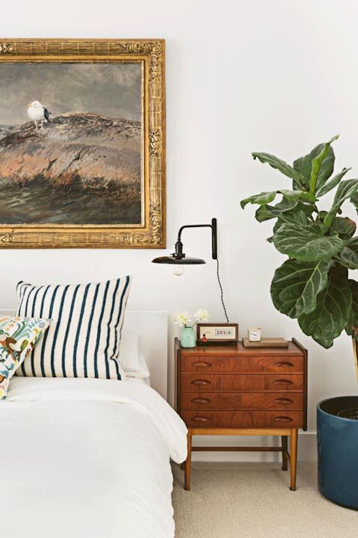 Chambre contemporaine adulte chambre à coucher décoration petite chambre theme marine legerement touche