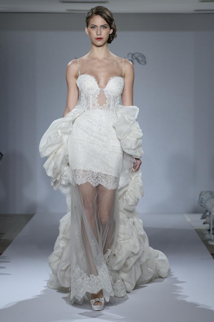Romantique robe de mariée magnifique boutique de robe de mariée simple et elegante originale idée robe de mariahe
