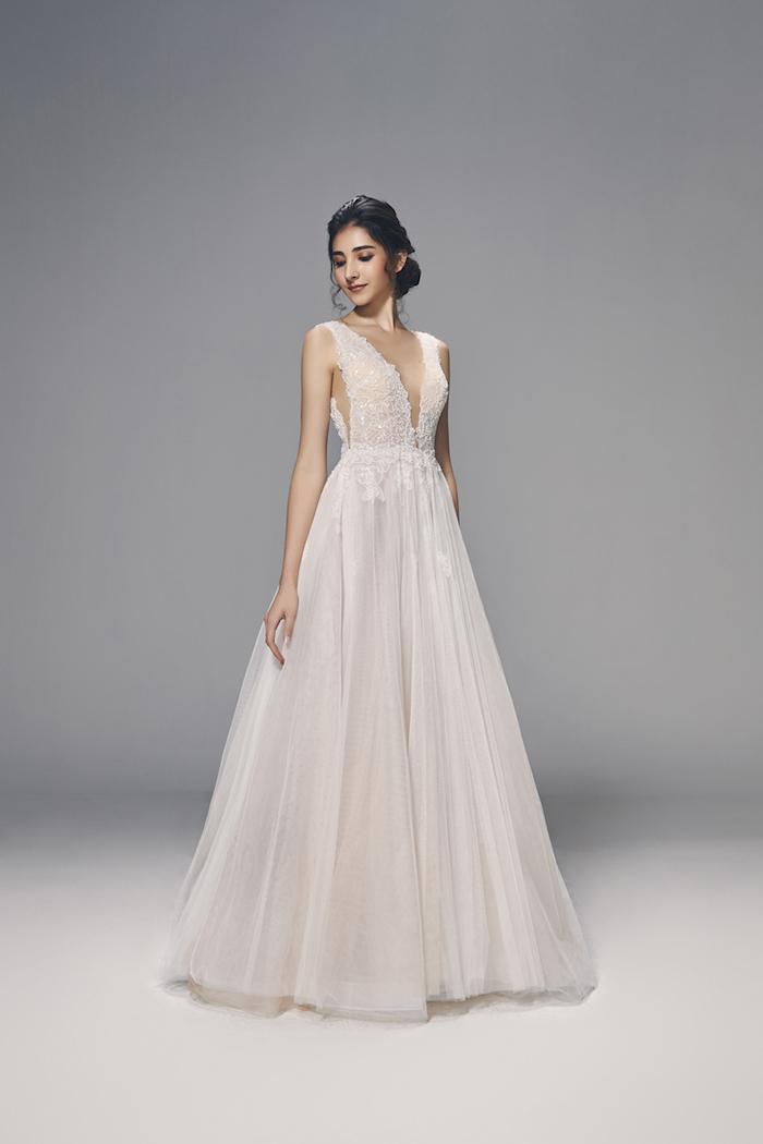 Tendance mariage 2018 beauté femme robe originale mariage photo magnifique robe
