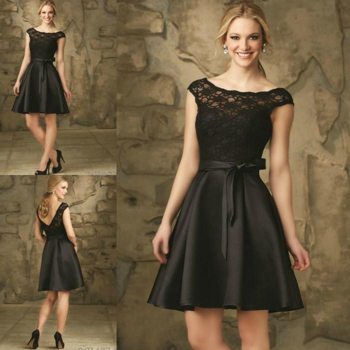 robe dentelle de soirée, robe de soirée pas cher, modèle élégant de robe femme chic