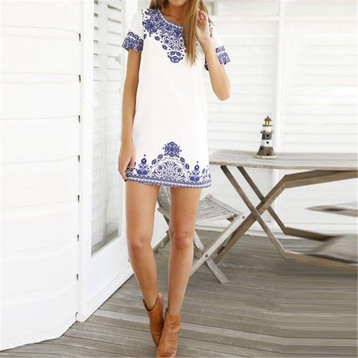 Robe longue d'été boheme chic robe d été longue belle printemps comment s'habiller aujdourd'hui et demain vacances robe blanche ete