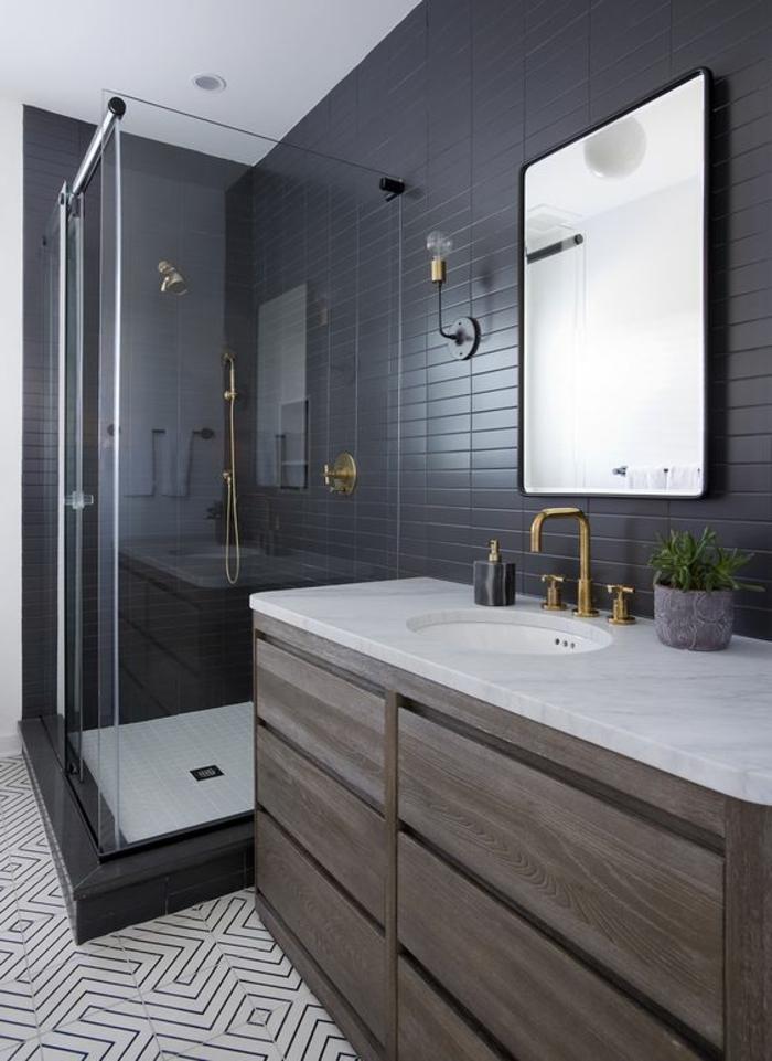 5 conseils pour une petite salle de bain tendance. Black Bedroom Furniture Sets. Home Design Ideas