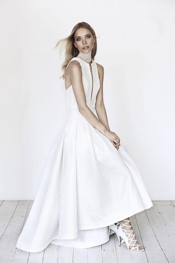 Robe de mariée moderne longue robe blanche les robes de maries image robe mariage chouette idée de robe