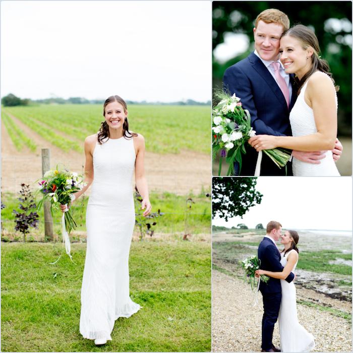 Robes de mariée 2018 quelle robe choisir pour son mariage idée romantique beauté féminine longue robe de mariée