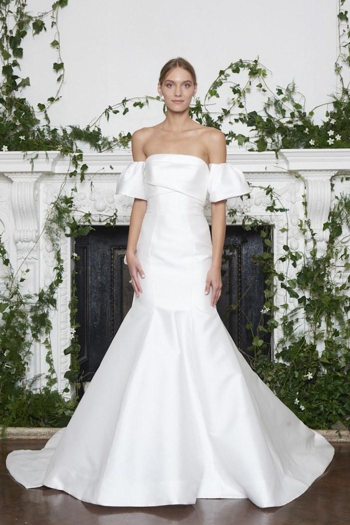Robe de mariée 2018 pronuptia robe de mariée classe mariage photo robe magnifique épaules dénudées moderne robe