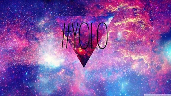 Fond d'ecran verrouillage fond d'écran pour fille image drole idée en image swag yolo galaxie pyramide
