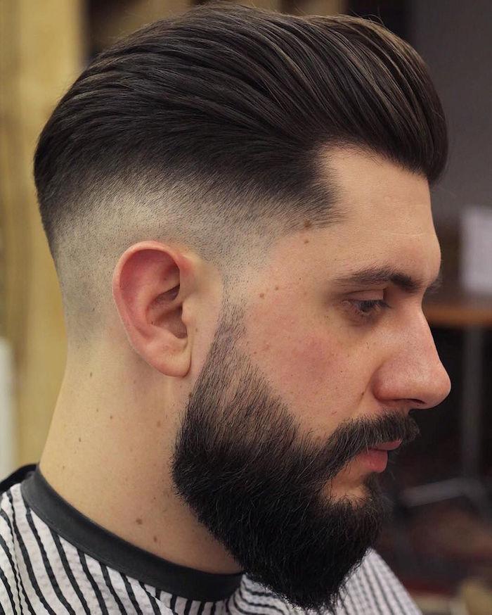 coupe de cheveux homme 6mm