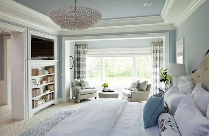 La chambre à coucher zen pour se sentir à l'aise ambiance calme chouette chambre blanche