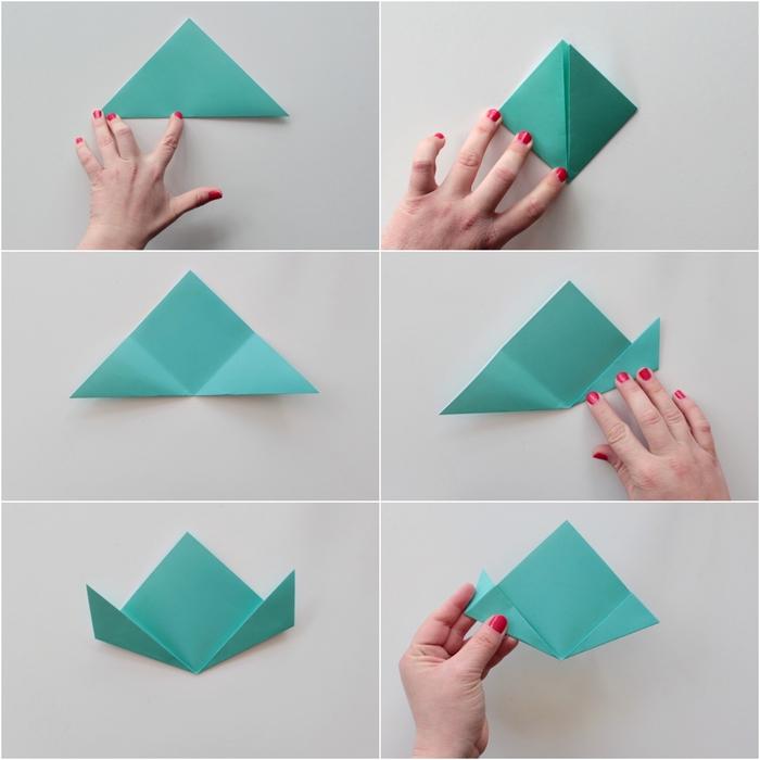 tuto origami facile pour réaliser de jolies pâquerettes en papier avec lesquelles on composera un bouquet tout en fleurs origami