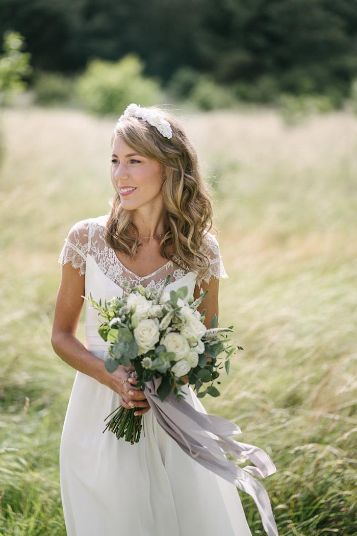 Originale robe de mariée 2018 point mariage choisir une robe princesse ou boheme mariage champetre