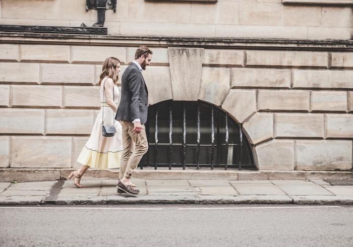 Vetement boheme romantique robe longue avec manche tenue d'été couple bien habillée