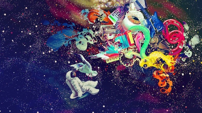 Fond d'écran girly wallpaper fond d'écran image drôle inspiration photo art abstrait le cosmos astronaut