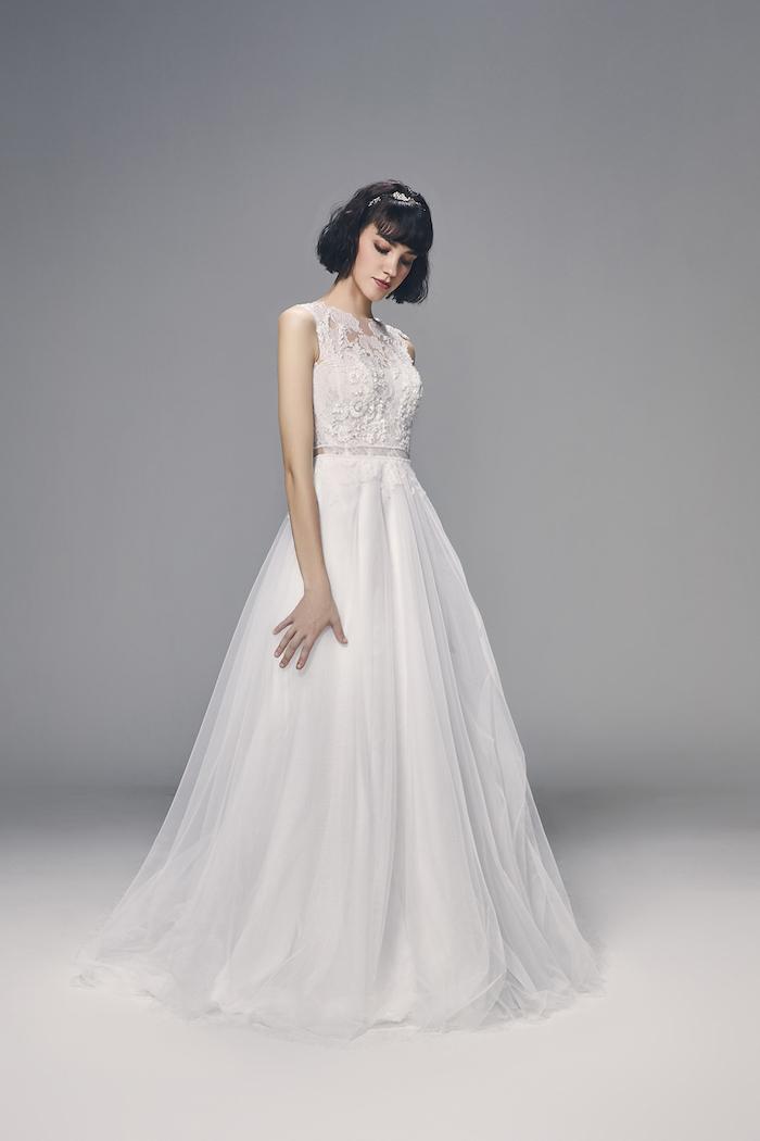 Robe de mariée solde robes de maries image robe mariage chouette idée de robe modeste robe longue haute taille jupe top dentelle