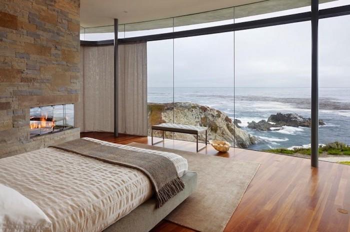 Deco chambre moderne amenagement tencance design contemporaine chambre au bord de la mer
