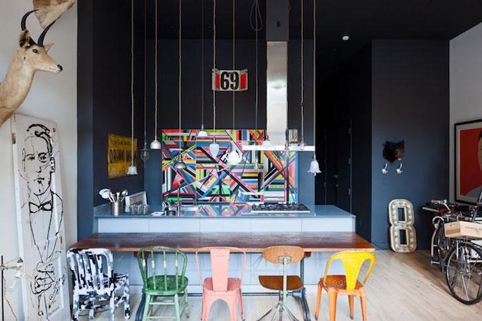 Appartement moderne décoration d intérieur danois decoration nordique moderne pop art idée