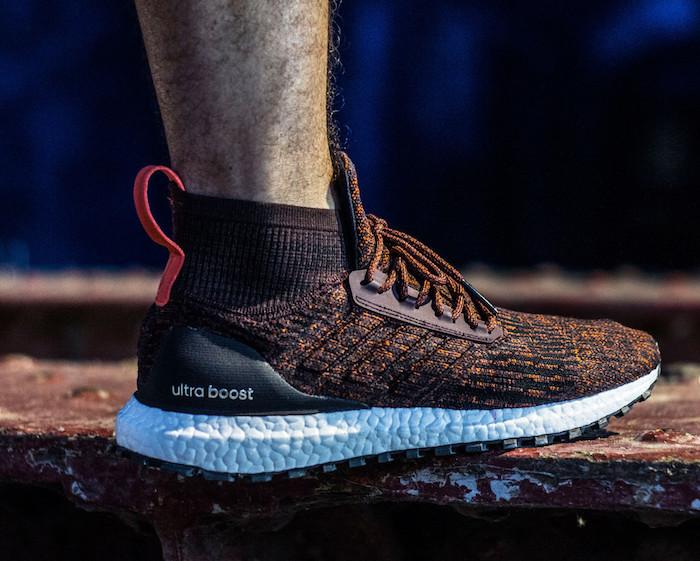 basket homme tendance Adidas Ultraboost X All Terrain marron montantes été 2018