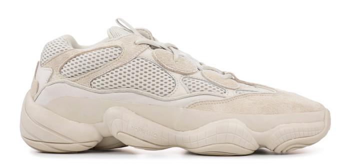 basket ville homme tendance mode tendance Adidas Yeezy Desert Rat 500 Blush beige