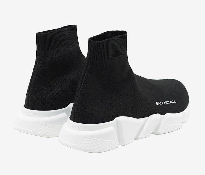 quelle basket a la mode 2018 homme et Balenciaga Speed Trainer sneakers tendance été