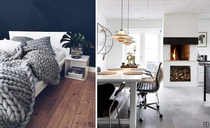 Couleur de peinture pour salon salle a manger deco moderne salon à aménager appartement style hygge
