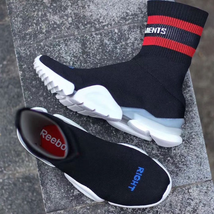 ou trouver Vêtements X Reebok Sock Runner en photo chaussure et chaussettes mode homme tendance