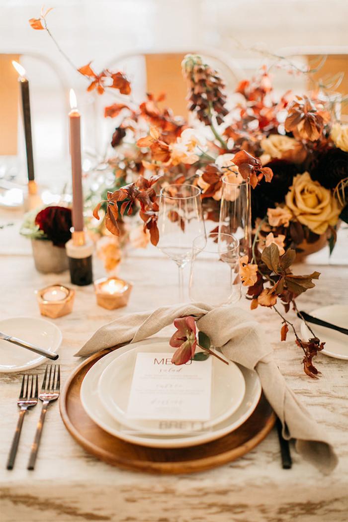 Pinterest mariage décoration de table mariage décoration de table automne décoration élégante et romantique