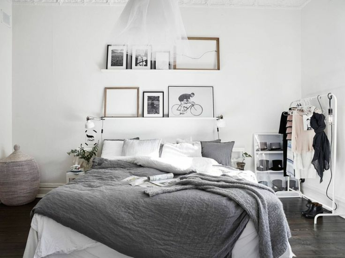 Peinture blanche chambre peinture blanche chambre chambre bleu gris blanc chambre peinture - Peinture blanche chambre ...