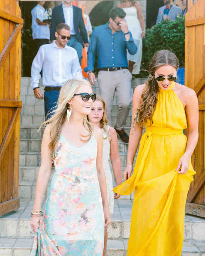 Chic robe de cocktail pour mariage comment s'habiller bien quand on est invitée photo reel mariage