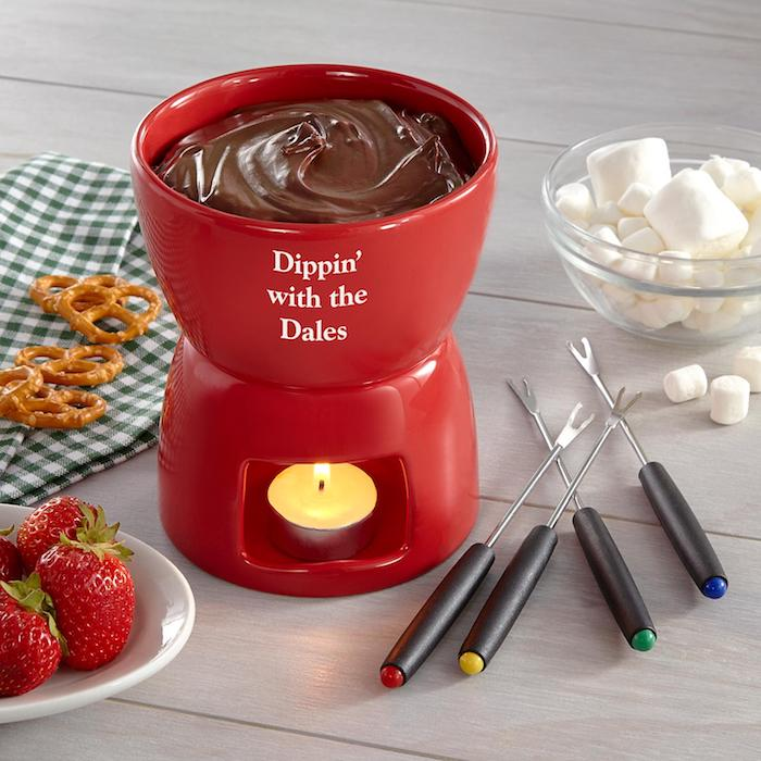 Magnifiue cadeau pour crémaillère idée cadeau crémaillère originale idée faire fondue à la maison simple