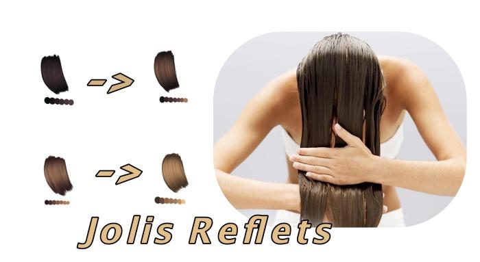 exemple effet eau oxygénée cheveux marron ou châtain foncé, soins de beauté maison avec produits naturels