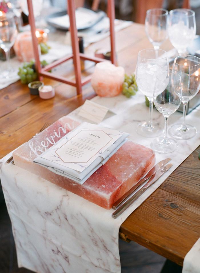 Décoration de table pas cher deco mariage a faire soi meme belle décoration sel himalai cool idée déco table originale