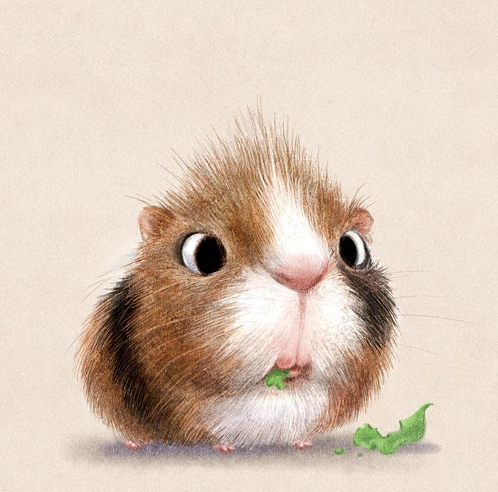 Dessin mignon dessiner un chien facile dessiner inspiration chouettes dessins hamster