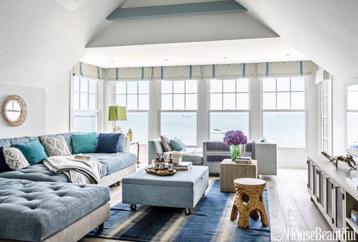 Maison moderne idée déco appartement décoration style scandinave maison au bord de la mer