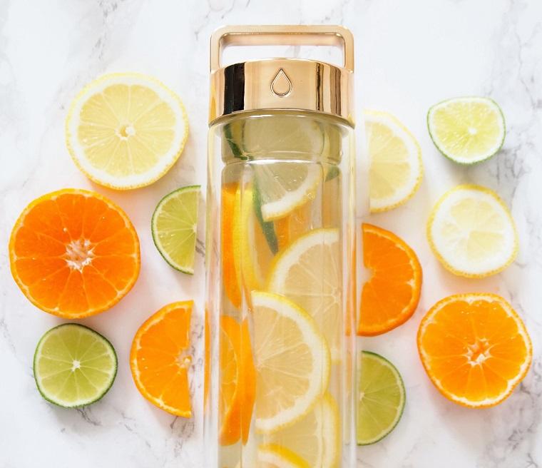 Boisson amincissante boisson detox gingembre boisson detox recette citron lime et oranges infusion
