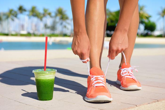 Idée boisson drainant naturel boisson diurétique thé pour maigrir rapidement smoothie vert chouette