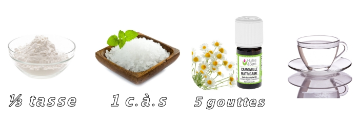 quels produits utiliser pour décolorer ses cheveux, bicarbonate de soude et huile de camomille cheveux sains