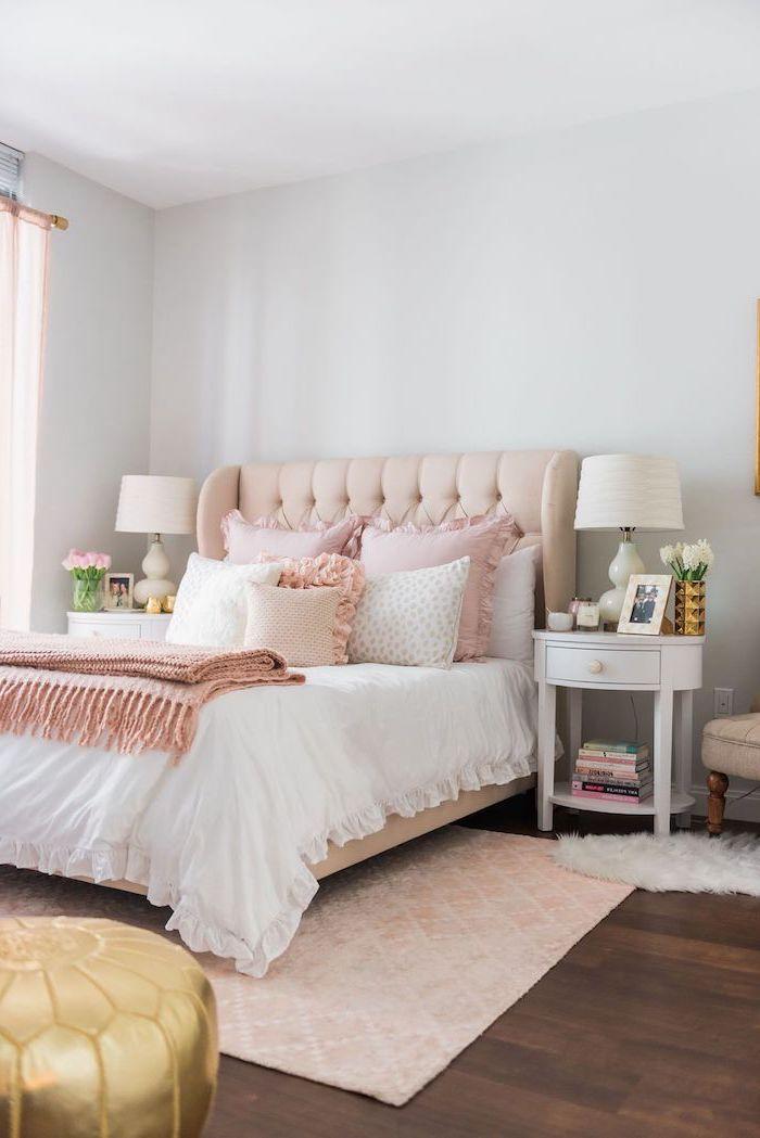 Décoration appartement étudiant aménagement petit studio appartement decoration chambre à coucher féminine