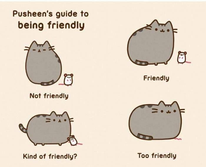 Cool kawaii dessin cool dessin d animaux image à copier idée dessin adorable Pusheens the cat adorable dessin rigolot