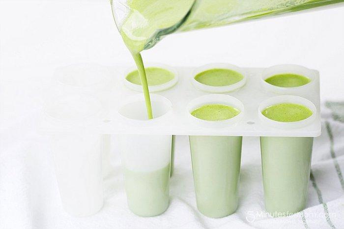 Boisson pour maigrir ventre jus minceur boisson detox avant de dormir smoothie vert dessert glacé smoothie saine