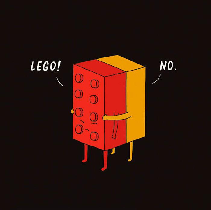 Dessin animé mignon lego pieces rigolote image idée dessin mignon a imprimer cool idée dessin