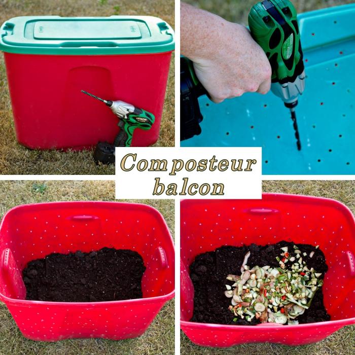 tout savoir pour fabriquer un composteur dans son jardin ou sur le balcon obsigen. Black Bedroom Furniture Sets. Home Design Ideas